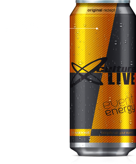 Culture Live Event Energy Drink