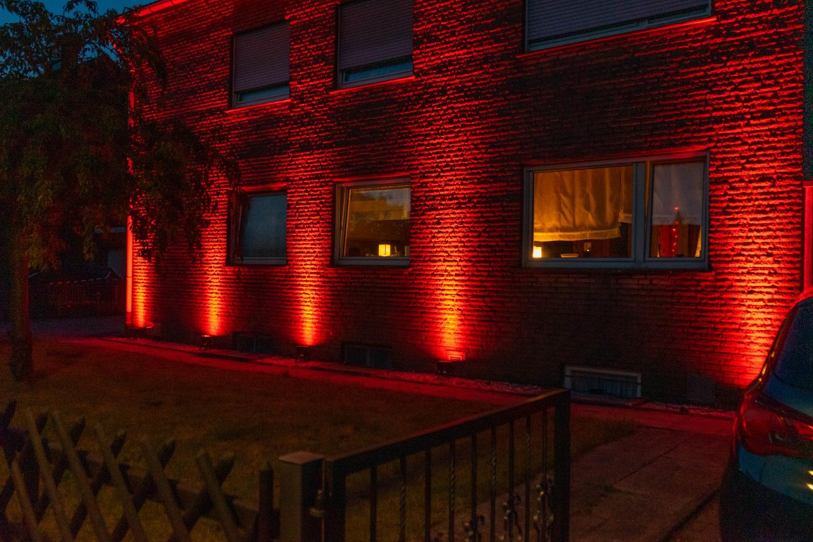 Culture Live: Referenzbild einer Gebäudebeleuchtung